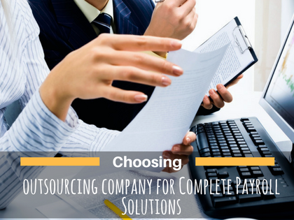 Why You Choosing a Payroll Services Outsourcing for Small Business?